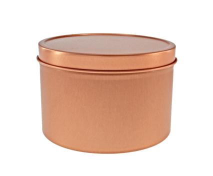 Metallpurk rose gold 250 ml