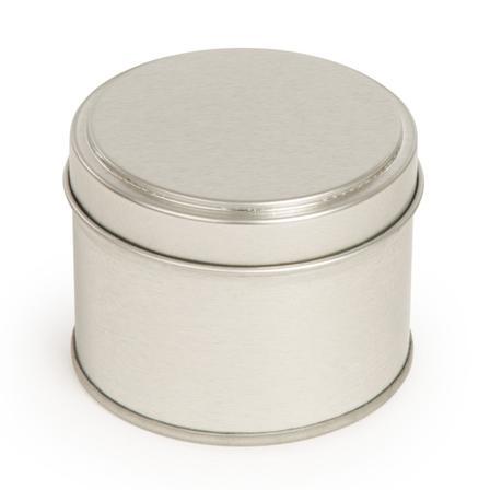 Metallpurk hõbe 100 ml