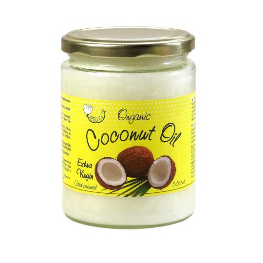 Orgaaniline kookosrasv (kosmeetiline) 500 ml
